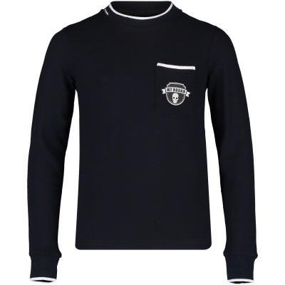 Afbeelding van My Brand BMBLS002G3002 kinder t-shirt navy