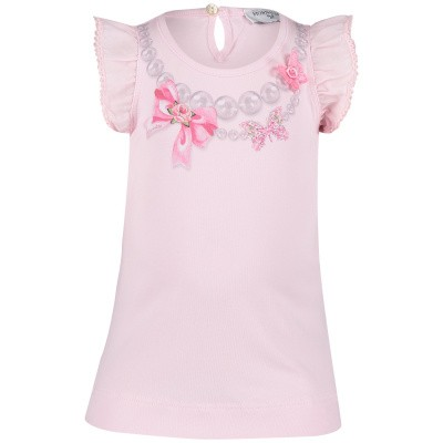Picture of MonnaLisa 393612SK baby shirt light pink