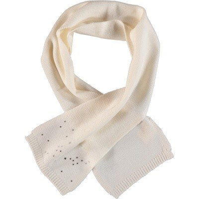 Picture of Story Loris 11305 baby scarf off white