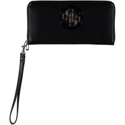 Picture of Guess SWVG7186460 womens wallet black
