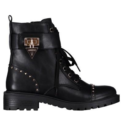 Afbeelding van Guess FLHOE4ELE10 dames sneakers zwart