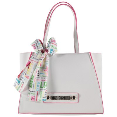 Picture of Moschino JC4247 womens bag off white