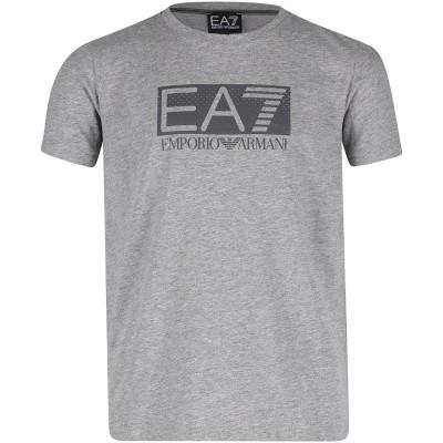 Afbeelding van EA7 3GBT53 kinder t-shirt grijs