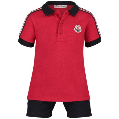 Picture of Moncler 8809905 baby set red