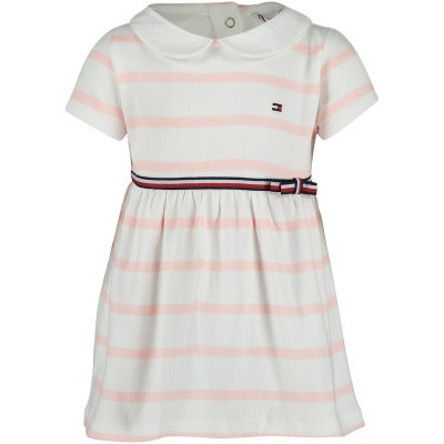 Picture of Tommy Hilfiger KN0KN00959 baby dress light pink