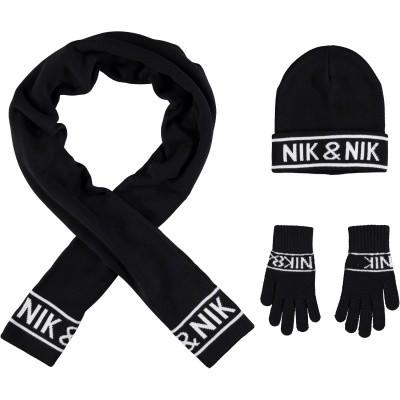 Afbeelding van NIK&NIK G9299 kindermuts zwart