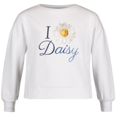Picture of MonnaLisa 193600S1 kids sweater white