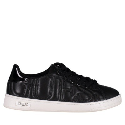 Picture of Guess FLCE34LEA12 womens sneakers black