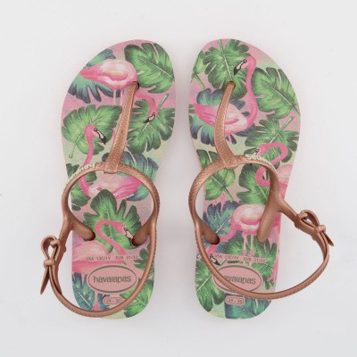 Picture of Havaianas 4137197 kids flipflops rose