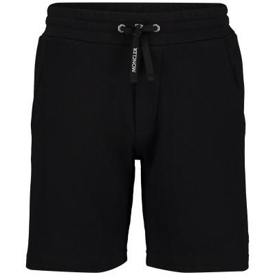 Afbeelding van Moncler 8708105 kinder shorts zwart