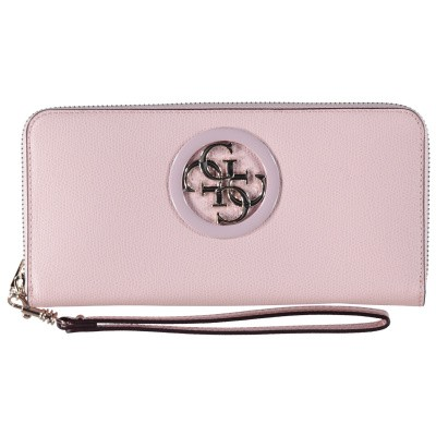 Picture of Guess SWVG7186460 womens wallet light pink
