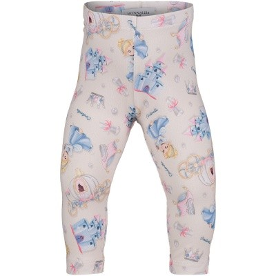 Picture of MonnaLisa 312412 baby legging light blue