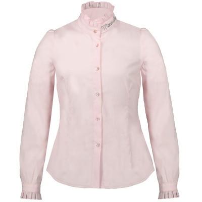 Afbeelding van MonnaLisa 17CAMT kinder overhemd licht roze