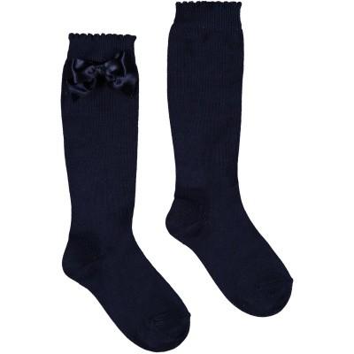 Picture of La Perla 42452 kids socks navy