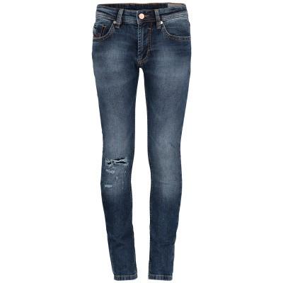 Afbeelding van Diesel 00J3Y1 KXBOD kinderbroek jeans