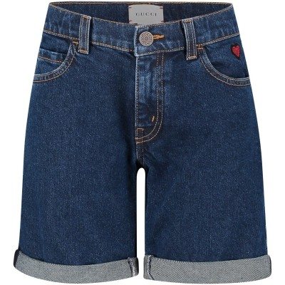 Picture of Gucci 504734 kids short jeans