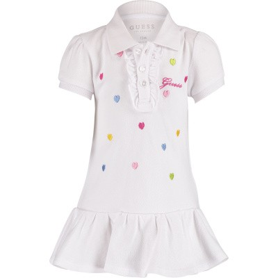 Picture of Guess A91K13 baby dress white