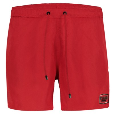 Picture of My Brand MMBSS003 mens swimshorts red