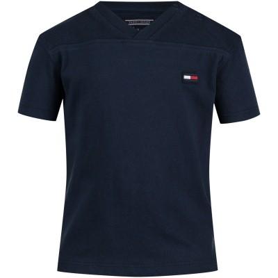 Afbeelding van Tommy Hilfiger KB0KB04120 B baby t-shirt navy