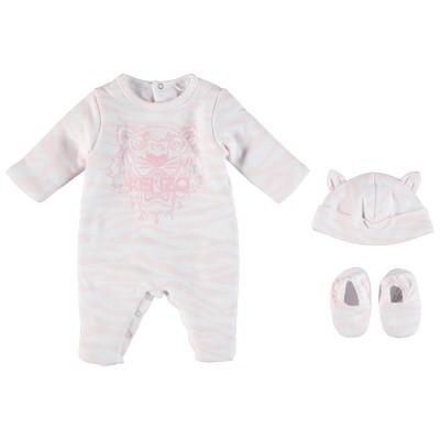 Afbeelding van Kenzo KM99023 babysetje licht roze