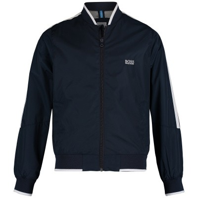 Picture of Boss J26363 kids jacket navy