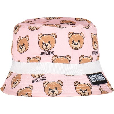Picture of Moschino MVX032 baby hat light pink