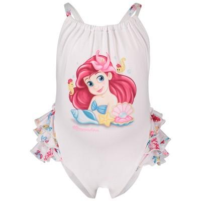 Picture of MonnaLisa 933007 baby swimwear white