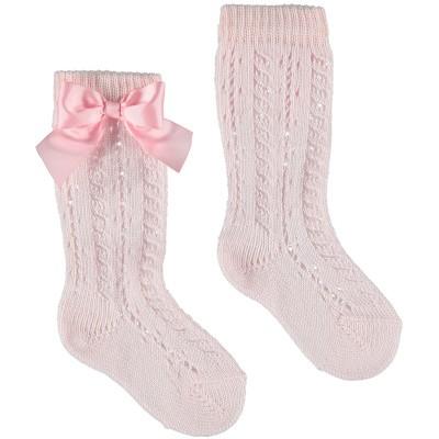 Afbeelding van Story Loris 6354B baby sokjes licht roze