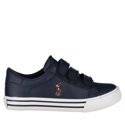 Picture of Ralph Lauren RF101126B kids sneakers navy