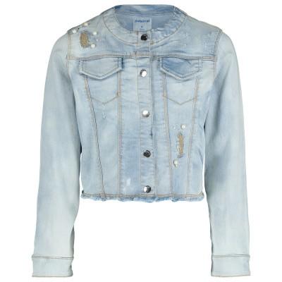 Afbeelding van Mayoral 3408 kinderjas jeans