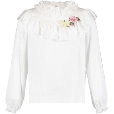 Afbeelding van MonnaLisa 112614A4 kinder overhemd off white