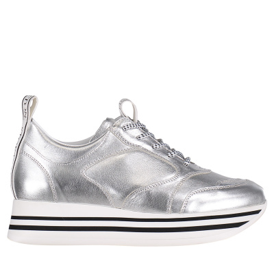 Picture of Stokton 33D womens sneakers silver