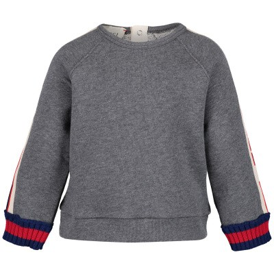 Picture of Gucci 548508 baby sweater grey