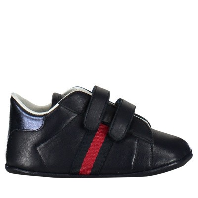 Picture of Gucci 500852 baby sneakers navy