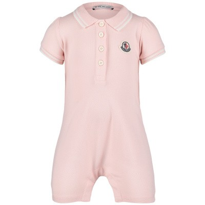 Picture of Moncler 8568205 baby playsuit light pink