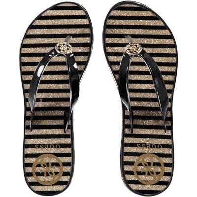 Afbeelding van Guess FL6ENZELE21 dames slippers zwart