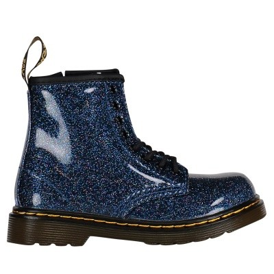 Picture of Dr. Martens 24290400 kids boots blue
