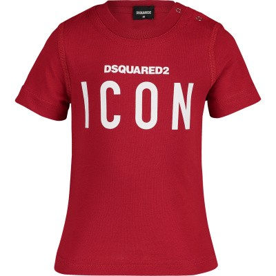 Afbeelding van Dsquared2 DQ03G1 baby t-shirt rood
