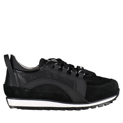 Picture of Dsquared2 59683 kids sneakers black