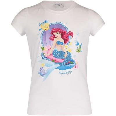 Afbeelding van MonnaLisa 113628P9 kinder t-shirt wit