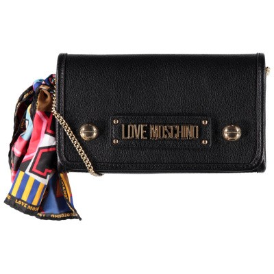 Picture of Moschino JC4045 womens bag black