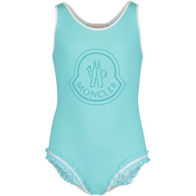 Picture of Moncler 0078605 kids swimwear mint
