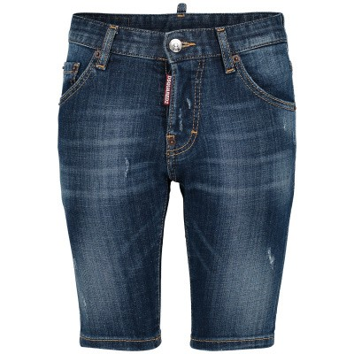 Picture of Dsquared2 DQ024D D00TG kids shorts jeans