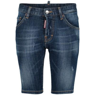 Afbeelding van Dsquared2 DQ024D D00TG kinder shorts jeans