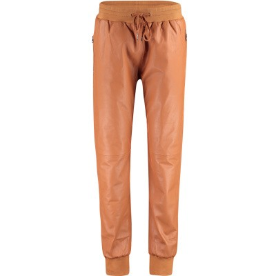 Afbeelding van Est y Ro TRACKPANTS dames jeans camel