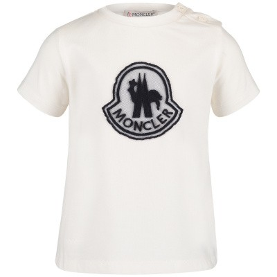 Picture of Moncler 8069805 baby shirt off white
