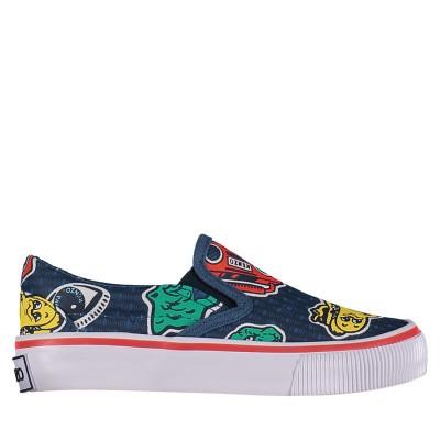 Afbeelding van Kenzo KN81508 kindersneakers navy