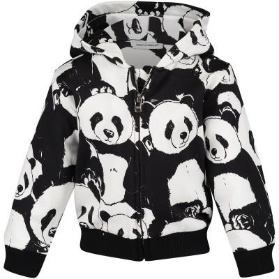Picture of Dolce & Gabbana L1JW2V baby vest black