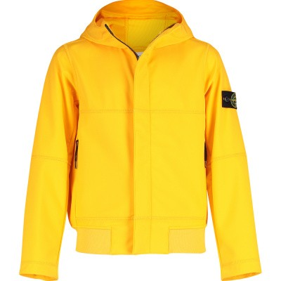Picture of Stone Island 701640234 kids jacket yellow