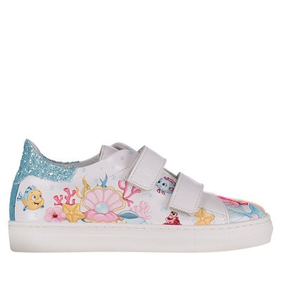 Picture of MonnaLisa 833011 kids sneakers white